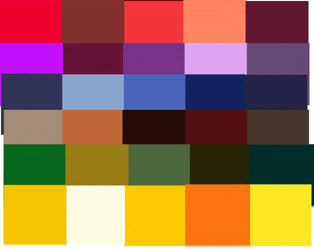 Merino 5 colour pack
